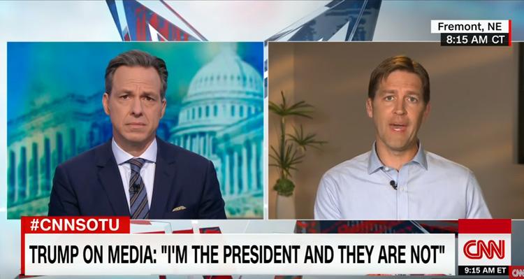 Republican Senator Says Trump Should Not Make The Media A Weapon – Video
