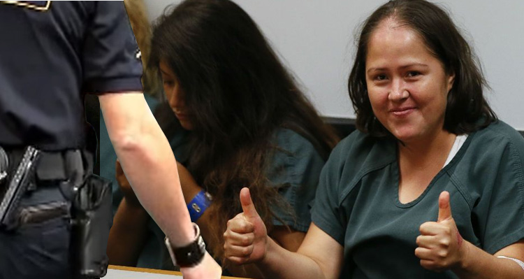 Mother Accused Of Killing Her Family Gives Thumbs Up In Court- Video