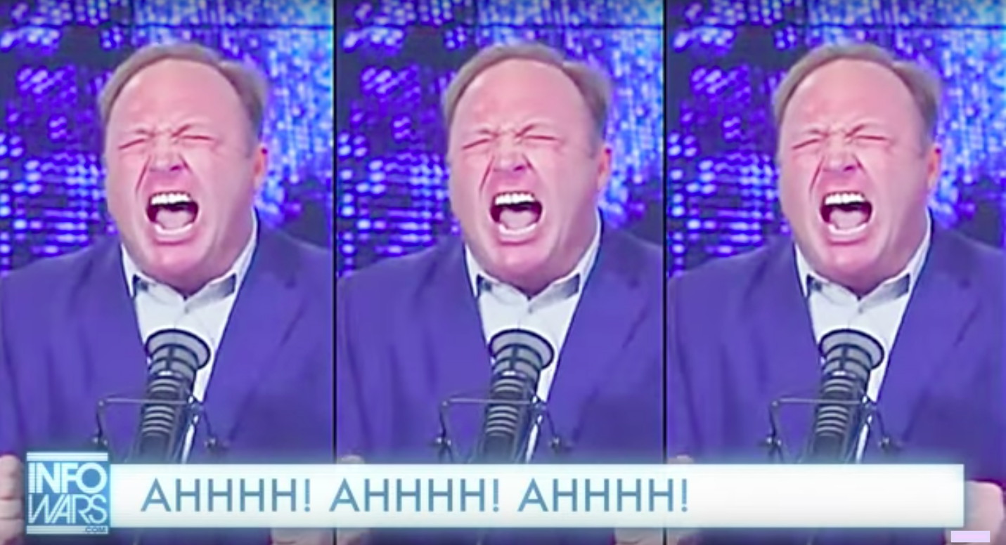 Alex Jones Rants As An Indie Folk Song Is The Best Thing You'll See Today – Video