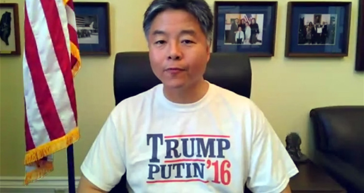 Democratic Rep. Ted Lieu Is F***ing AWESOME!