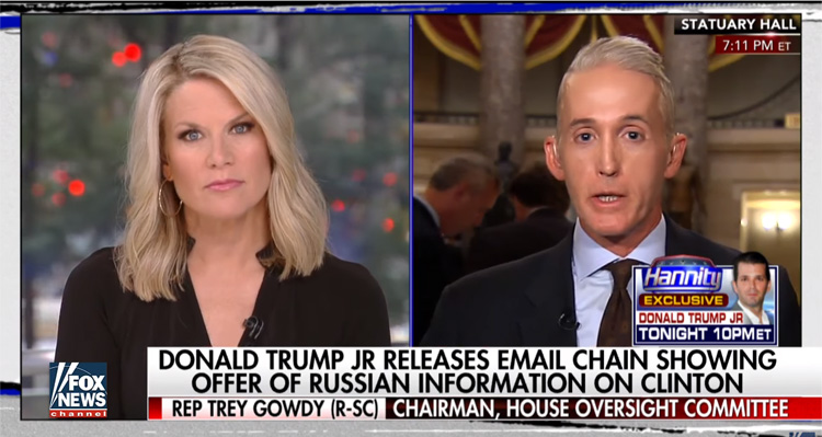 Watch Trey Gowdy Turn On The Trump Administration In A Bombshell Fox News Interview – Video