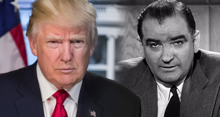 Trump Does Everything He Can To Bring Back McCarthyism