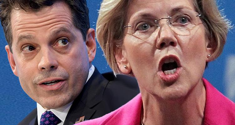 Elizabeth Warren Warned Trump About Anthony Scaramucci Weeks Ago