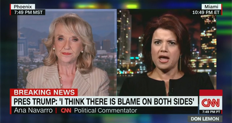Ana Navarro Destroys Trump Defender Jan Brewer – Video