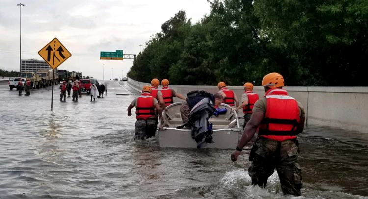 A Texas Native Weighs In On Hurricane Harvey, Trump And Climate Change