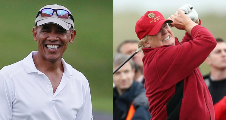 Hey Conservatives, Let's Compare Obama And Trump Vacations