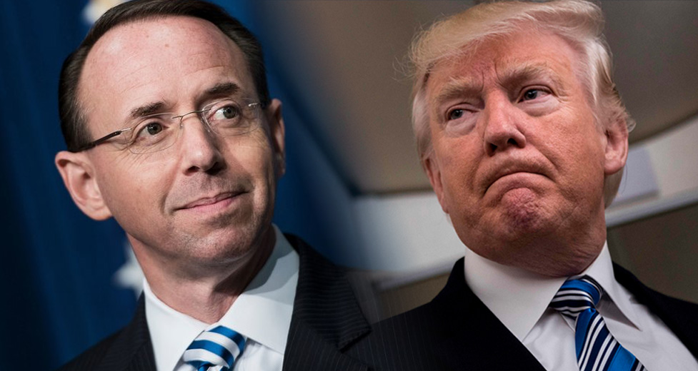 Rosenstein Drops A Bomb On Trump – And This One Is Going To Hurt
