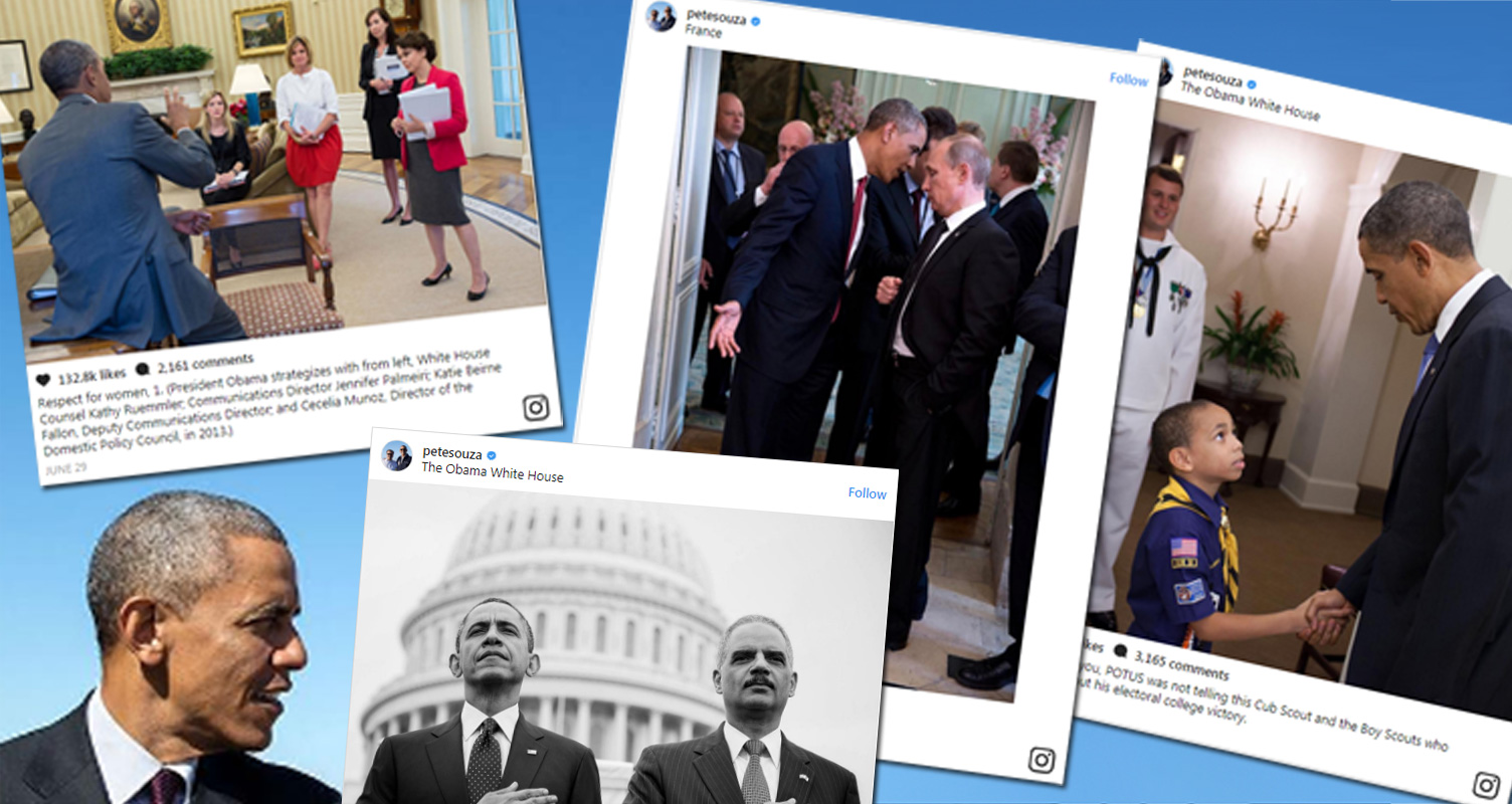 These Posts Trolling Trump By Obama's Official Photographer Are Cracking Me Up