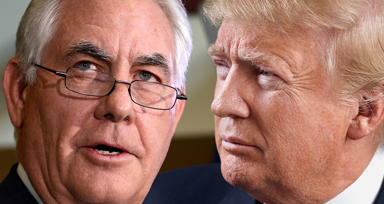 Rex Tillerson Fed Up With Trump