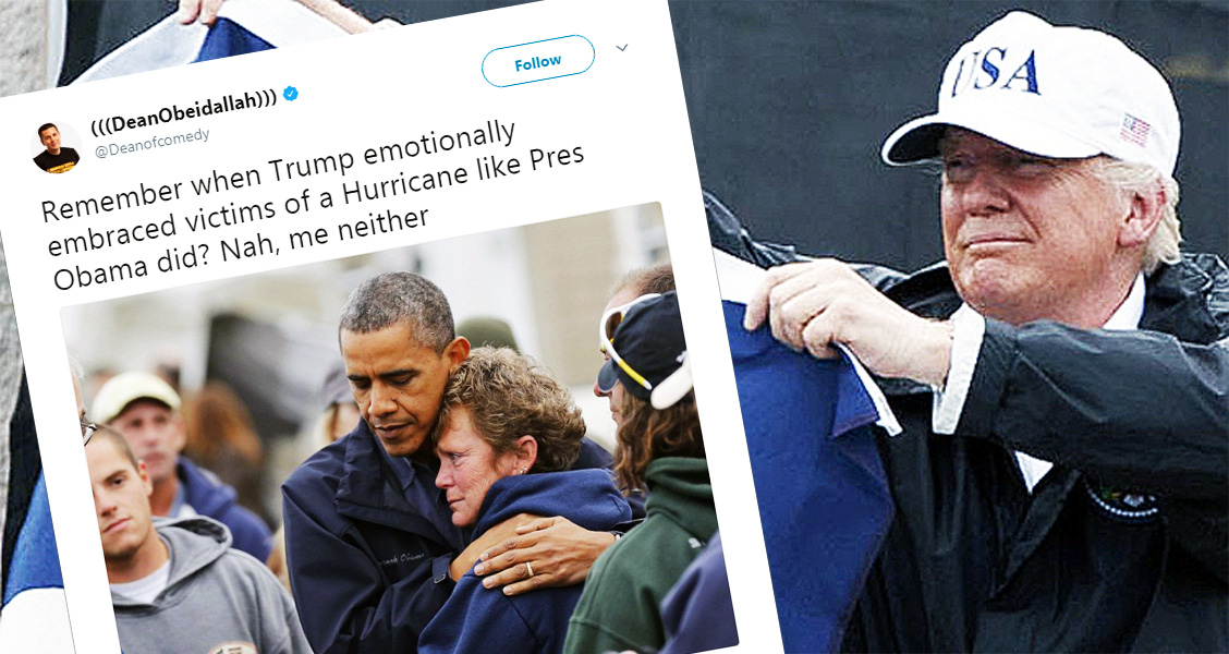 Twitter Reacts To Trump's Response To Hurricane Harvey