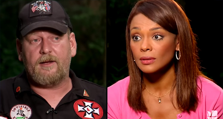 KKK Leader Calls Reporter The N-Word, Tells Her 'We're Going To Burn You Out' – Video