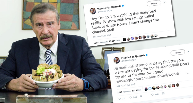 Watch The Former President Of Mexico Hand Trump His A**