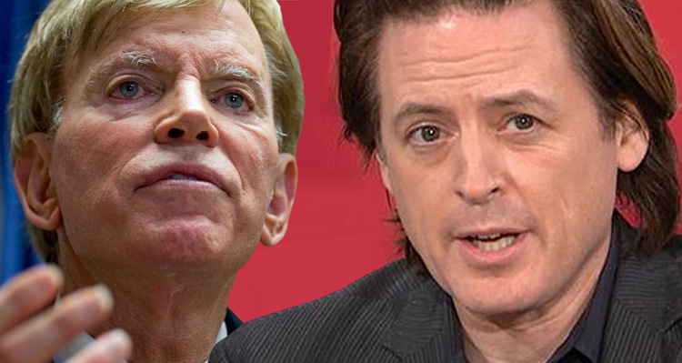 The Time John Fugelsang Publicly Humiliated White-Supremacist David Duke – Video