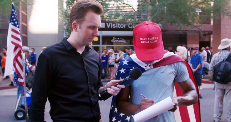 Clueless Trump Supporters Sign 'Impeach Hillary' Petition – Video