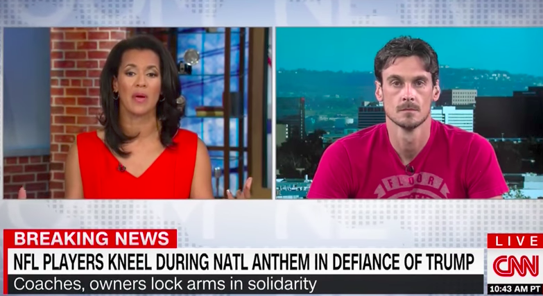 "Former Vikings Star Chris Kluwe Calls It: #45 is a ""Racist, Fascist, White Supremacist"""