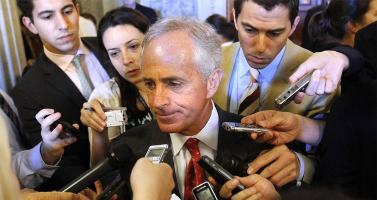 No Holds Barred War Breaks Out After Trump Lashes Out at Republican Senator Bob Corker