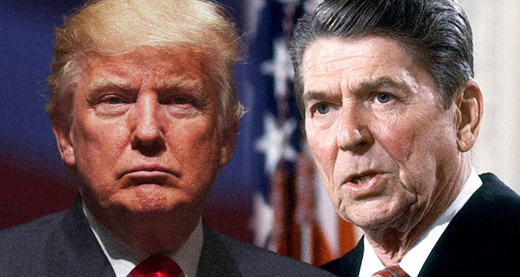 Reagan Never Liked Trump