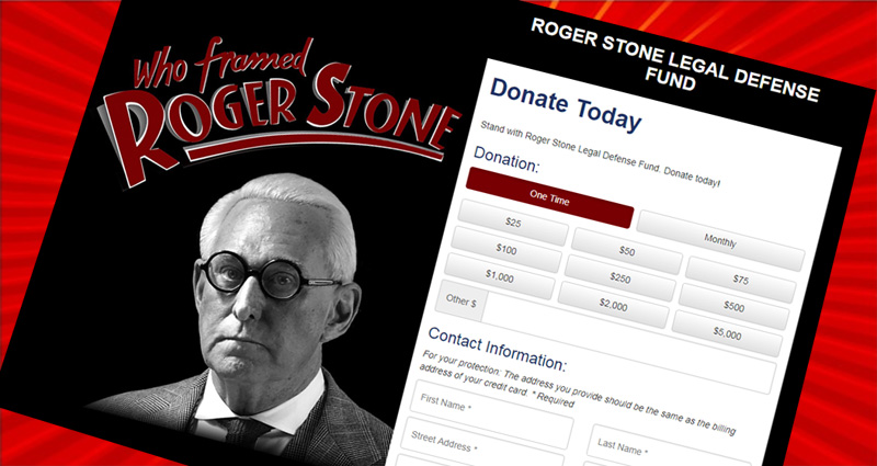 Roger Stone Goes Berserk As The Mueller Investigation Closes In