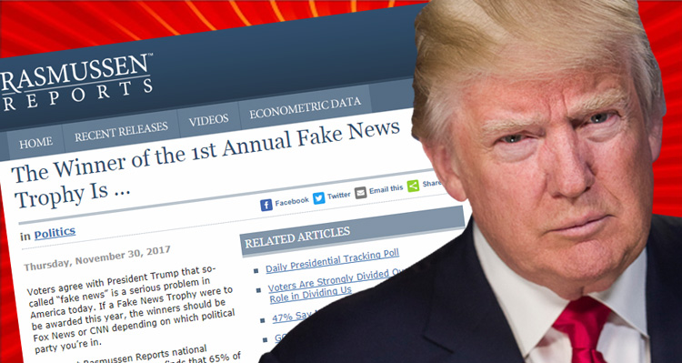 Trump Is Going To Flip Out When He Sees The Results Of Conservative-Leaning Site's Fake News Poll