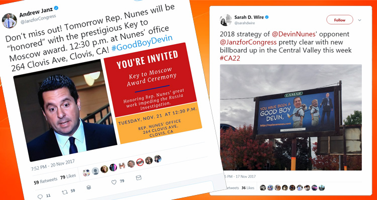 Devin Nunes Hilariously Trolled By His Democratic Opponent