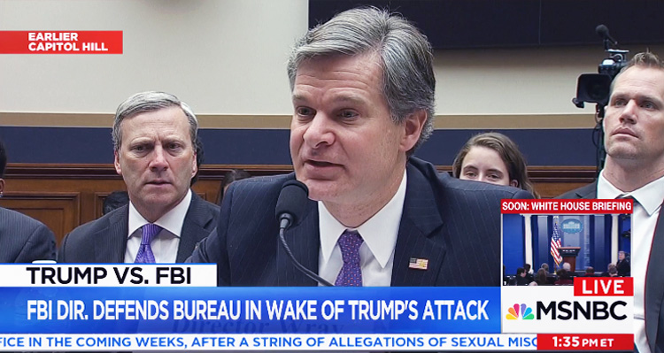 FBI Appears To Give First On-The-Record Confirmation Of FISA Warrants In Russia Investigation – Video