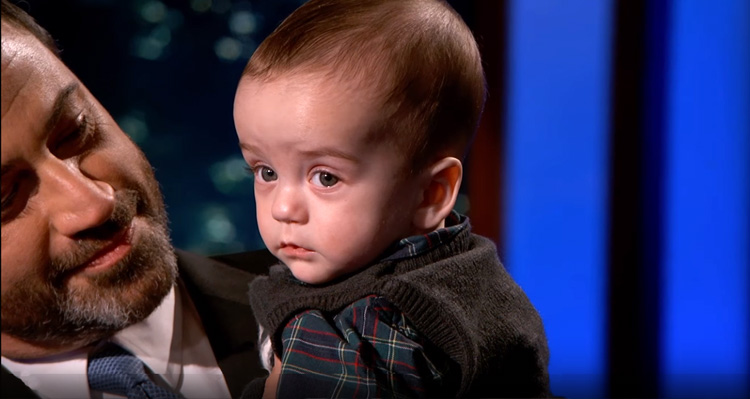 Watch Jimmy Kimmel's Heart-wrenching Message To Congress Urging Them To Fund Children's Health Insurance