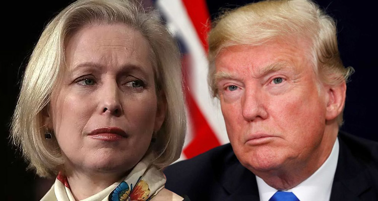 Kirsten Gillibrand Responds To Trump's Vulgar Tweet About Her