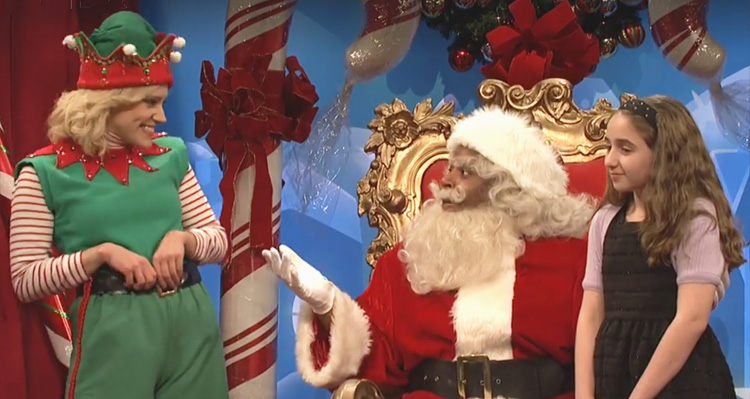 Watch SNL Take On Santa's 'Naughty List' This Year
