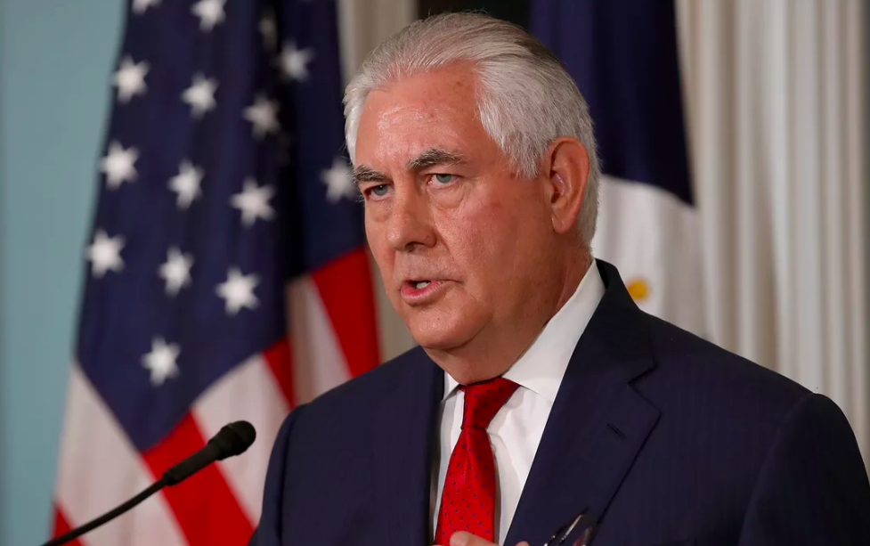 Behind closed Doors Rex Tillerson Told Diplomats That Russia 'Interfered' in 2016 Election