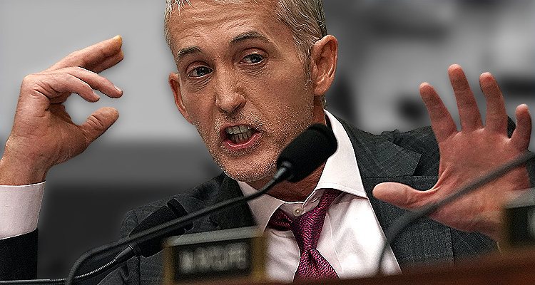 Trey Gowdy, Himself Accused By The CIA Of Committing High Crimes Is Now Working To Shut Down Russia Investigation