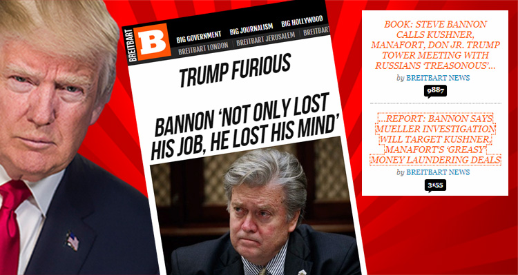 All Out War Breaks Out Between Breitbart News And Donald Trump