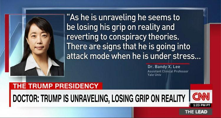 Psychiatrist Briefs Congress On Trump's Mental State: 'He's