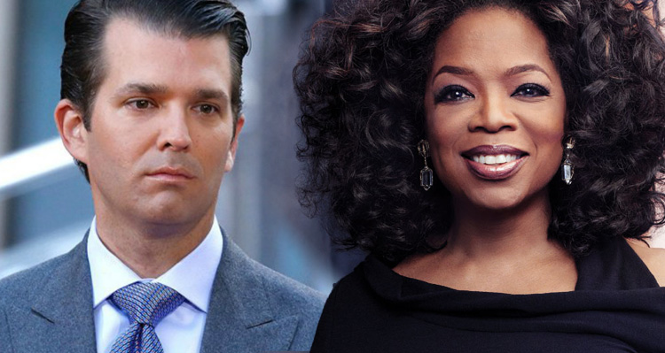 Donald Jr. Throws A Temper Tantrum After NBC News Calls Oprah 'OUR Next President'