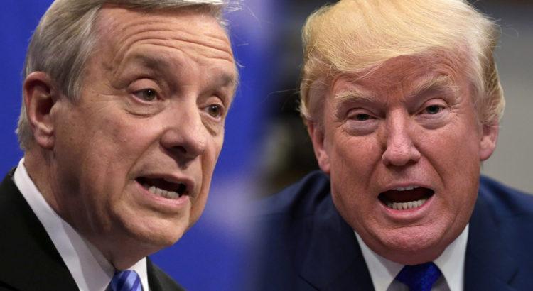 Senator Dick Durbin Demands White House Release Tape Of Trump's Racist  'Sh*thole' Slur