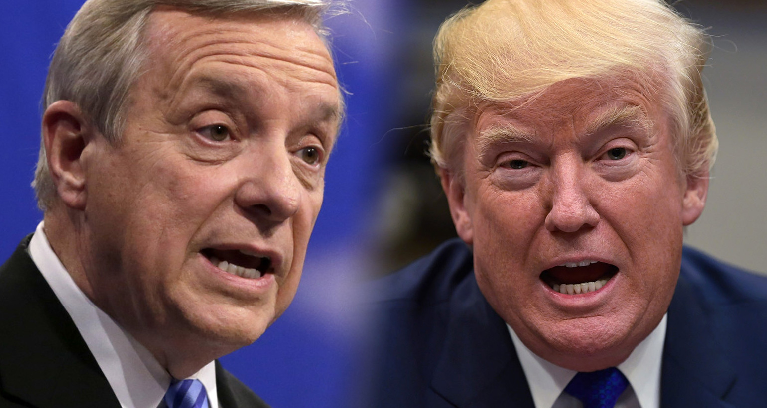 Senator Dick Durbin Demands White House Release Tape Of Trump's Racist  'Sh*thole' Slur