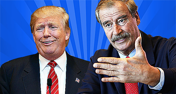 Vicente Fox Thoroughly Humiliates Trump On Twitter