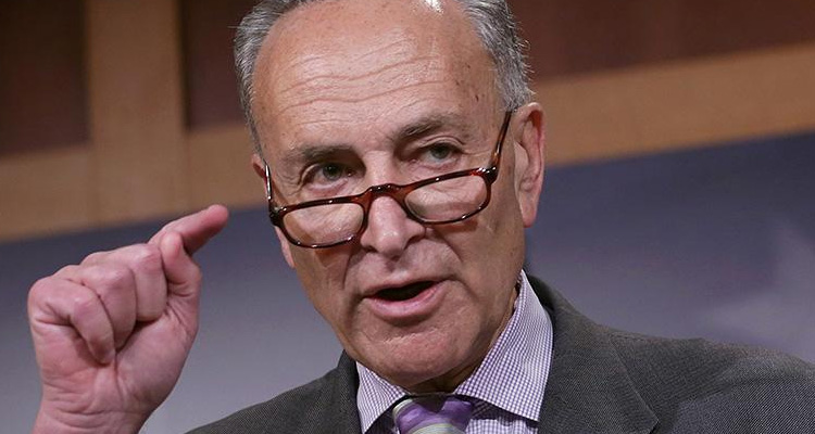 Chuck Schumer Roars At Wayne LaPierre For 'Spewing Pathetic, Out Of Touch Ideas, Blaming Everything But Guns