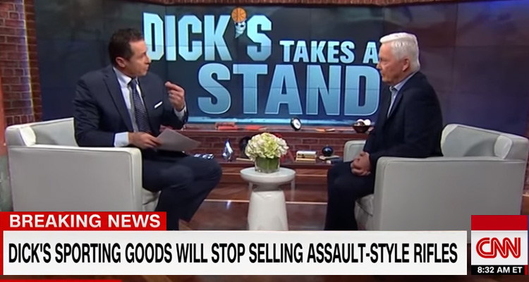 Dick's Sporting Goods Bans Assault Rifle Sales, Implores Congress To Pass New Gun Laws – Video