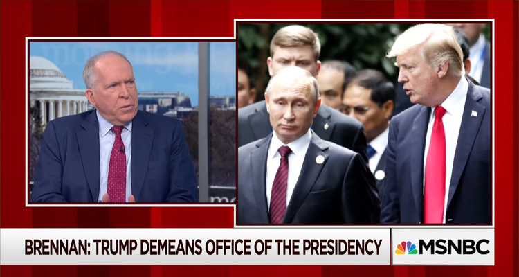 Former CIA Director Totally Trashes Trump – Video