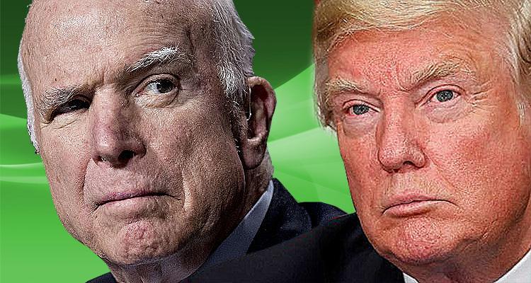 John McCain Destroys Trump For Kissing Putin's ***