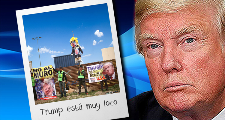 Tijuana Residents Laugh At 'Loco' Trump And His Border Wall Prototypes