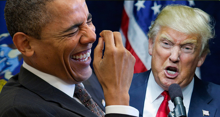 The Joke's On Trump As Obama Turns The Table On Him Without Lifting A Finger