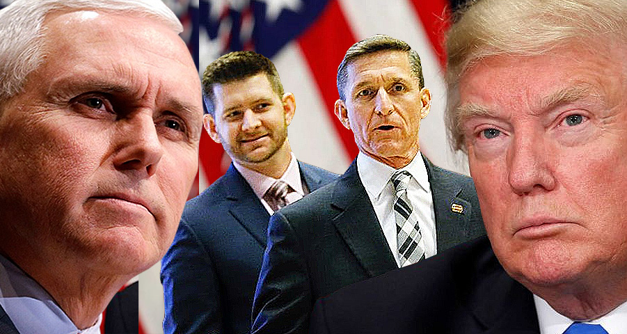 In A Fit Of Rage, Michael Flynn's Son Implicates Trump And Pence In White House Cover-Up