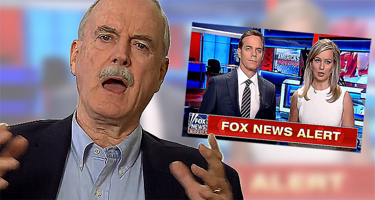 John Cleese Explains Why Fox News Cannot Begin To Understand Just How Stupid They Are – Video
