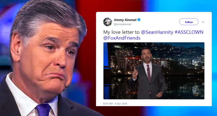 Jimmy Kimmel Destroys Sean Hannity – 'If I'm An Assclown – You, Sean, Are The Whole AssCircus' – Video