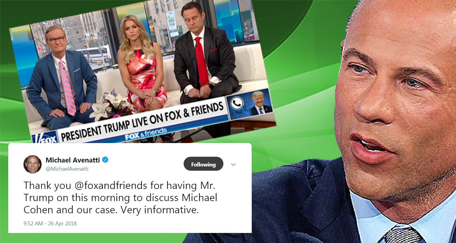 Stormy Daniels' Attorney Ridicules Trump After He Implicates Himself In The Stormy Daniels Cover-Up During Fox & Friends Interview