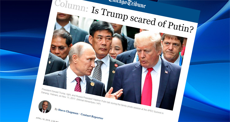 Chicago Tribune Shreds Trump - 'His Administration Looks Like The World's Longest Hostage Video'