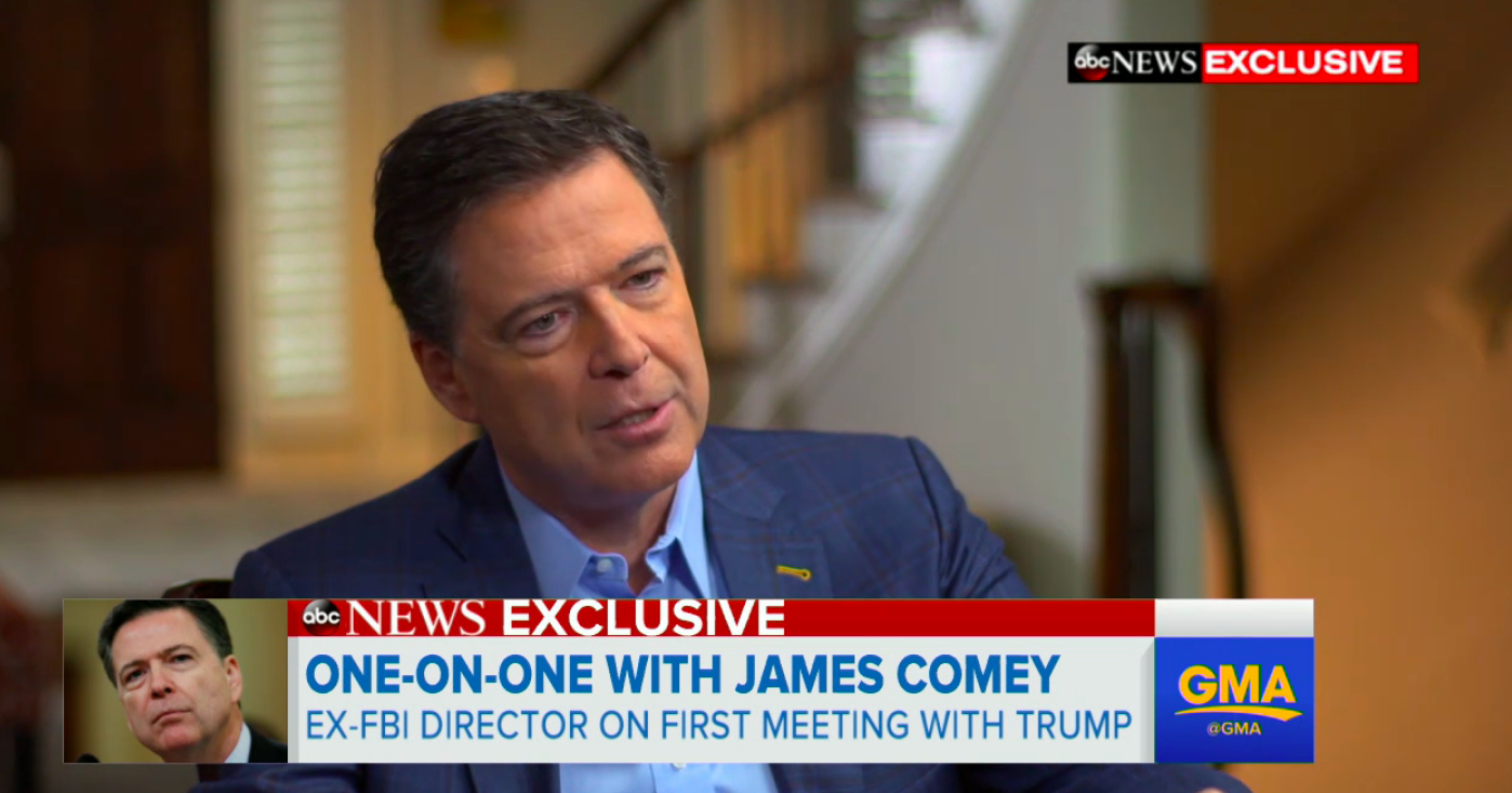 LORDY! Comey Won't Rule Out A Golden-Showers Tape