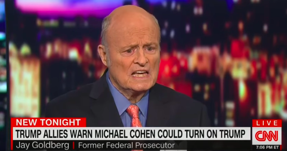 Cohen Will Flip Because He's Not Suited For 'Rigors Of Jail Life' Says Trump Former Lawyer