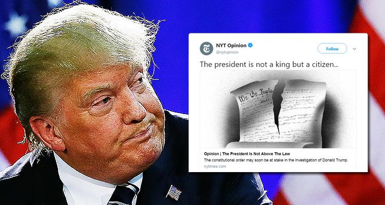New York Times Demands Republicans Put America First